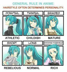 Anime hair style (s)