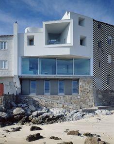 galicia cool magazine: David Chipperfield casa en Corrubedo, A Coruña