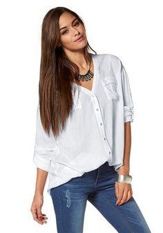AJC Hemdbluse Uni, Shopping, Tops, Women, Fashion, Dress Skirt, Blouse, Moda, Fashion Styles