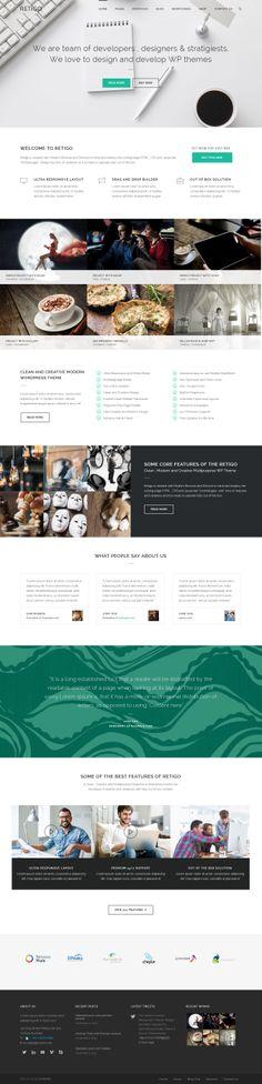 Cool Web Design, Retigo. #webdesign #webdevelopment [http://www.pinterest.com/alfredchong/]