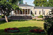 Puistotalo building and Kesäpuisto parkThe Kesäpuisto park was founded within the Lappeenranta Bastion in the Historical Sites, Mansions, Park, Architecture, House Styles, Building, Travel, Arquitetura, Viajes