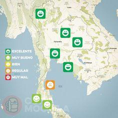 El tiempo en Tailandia en DICIEMBRE