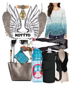 """""""western wings"""" by lerp ❤ liked on Polyvore featuring WithChic, Merona, J.Crew, Skip Hop, Liz Claiborne, Wet Seal, women's clothing, women, female and woman"""