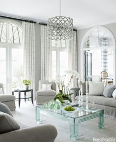 Can't help it, i love lucite furnishings! 8 Trends From the 1980s We Actually Still Love Today  - HouseBeautiful.com