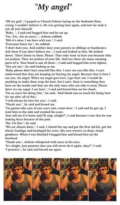 Ashton Irwin Imagine (him selfharming) , everytime i read an Ashton selfharm imagine i start crying. god i don´t want him to do this, he is beautiful inside and out