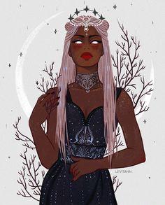 ✨Nyx✨🌙✨ I always a little bit nervous when I'm doing non kpop art 😭 . Black Girl Art, Black Women Art, Black Girl Magic, Art Girl, Arte Black, Witch Art, Illustration, Afro Art, Arte Pop