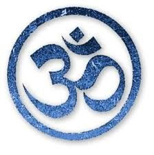 "This is the Hindu symbol, Aum. The Aum represents many forms of nature in society like earth, water, plant, man, speech. Rigveda, and Samveda. ""Thus Om mystically embodies the essence of the entire universe."""