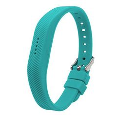 Band for Fitbit Flex2 Buckle Design Teal One Size * Details on this product can be viewed by clicking the image