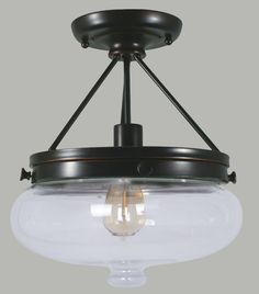 Features Baltimore 1 Light Semi Flush   Finishes Bronze (BZ)  Dimensions H:38cm W:33cm    Globe 240V E27 42W (not included)   * Australian made & designed. * Customized & original designed lights available for you to create on request. *