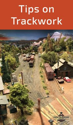 Planning How about trackwork? The trains we love can't do much without track. In the next installment of our series, I'll present some track and track laying options to think about when planning your model railroad layout.