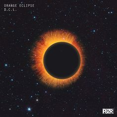 D.C.L. - Orange Eclipse #artwork #techno #music #cover