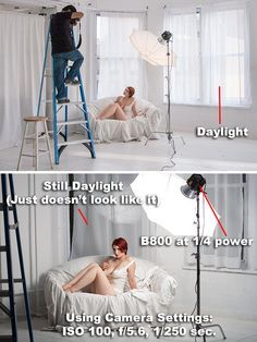 Learning how to control your light will allow you to easily create effects like overpowering daylight (above). Here, the right combination o...