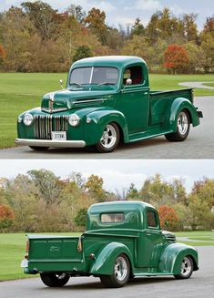 Vintage Trucks Muscle The best vintage cars hot rods and kustoms - Old Pickup Trucks, Hot Rod Trucks, Cool Trucks, Chevy Trucks, Cool Cars, Truck Drivers, Best Trucks, Chevy Ssr, 4x4 Trucks