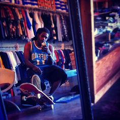 Chillin at the skate shop #phazeone