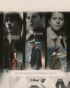 Supernatural Team Free Will Supernatural Fans, Supernatural Poster, Supernatural Wallpaper, Winchester Boys, Winchester Brothers, Jensen Ackles, Cw Series, Two Brothers, Destiel