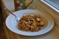 pumpkin apple cranberry slow cooker oats