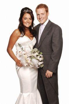 eastenders' lacey turner & charlie clement' wedding (R)