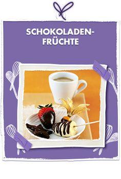 Schokoladenfrüchte