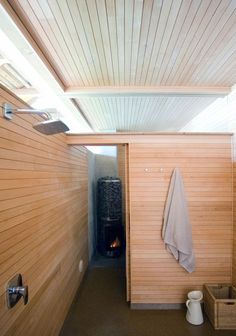 Sauna At Box - Picture gallery