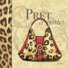 RB2217  Paris Couture Purse I  12x12