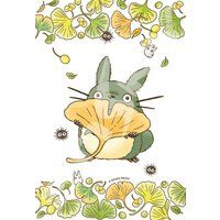 Jigsaw Puzzle - My Neighbor Totoro: Ginkgo & Totoro Totoro Drawing, Studio Ghibli Art, Hayao Miyazaki, Ghibli Movies, Girls Anime, My Neighbor Totoro, Kawaii Anime, Anime Art, Original Paintings