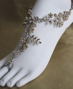 "barefoot sandals - I always figured these would be the ""shoes"" I would wear if I had a fancy wedding."
