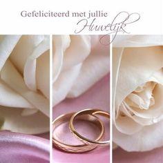 Huwelijk Engagement Cards, Wedding Engagement, Wedding Rings, Engagement Rings, Birthday Wishes, Happy Birthday, Wedding Anniversary Cards, Napkin Rings, Marriage