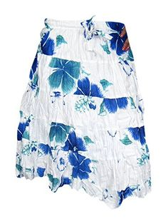 Indian Summer Blue Floral Printed Rayon Boho Mini Skirt M... http://www.amazon.com/dp/B00Q88FSY6/ref=cm_sw_r_pi_dp_79Upxb1MEPG42