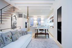 Remodelista Matiz Architecture and Design NY 72 sqm 1 párnák és lámpa!