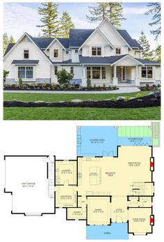 Two Story House Plans, Lake House Plans, Family House Plans, Luxury House Plans, Cottage House Plans, Craftsman House Plans, Country House Plans, New House Plans, Dream House Plans