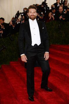 Met Gala 2014 - Bradley Cooper Tuxedo by Tom Ford - I don't think I've ever disliked a beard more.