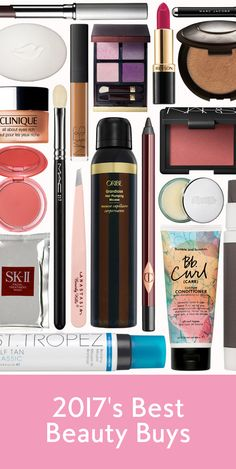 We've hand-picked the best beauty products for 2017.