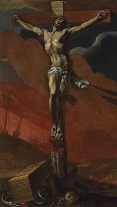 "Adrien Sacquespee - ""Christ on the Cross"" - 1656"
