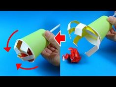 Stem Projects, Projects For Kids, Preschool Crafts, Diy Crafts For Kids, Spring School, Crepe Paper, Diy Toys, Origami, Paper Crafts