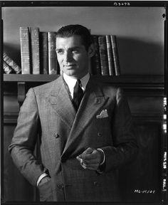 Clark Gable, photo by Clarence Sinclair Bull