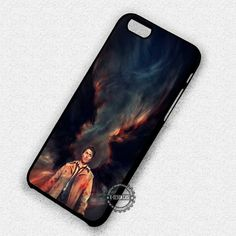 Angel Castiel Wings Supernatural - iPhone 7 6 5 SE Cases & Covers