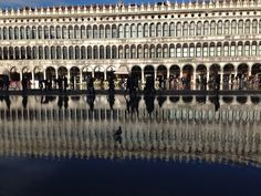 Riflessi - piazza San Marco