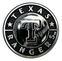 New England Patriots Silver Auto Emblem