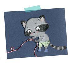 raccoon, Cécile Hudrisier
