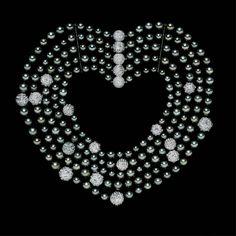 Colar de pérolas South Sea e Diamantes | Tiffany & Co.
