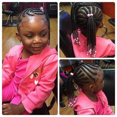 60 Stylish Hairstyles with Braids for Kids — From Box and Crochet Braids to French and Dutch Braids Check more at Little Girl Box Braids, Little Girl Braid Styles, Kid Braid Styles, Girls Braids, Kid Styles, Kids Crochet Hairstyles, Crochet Braids For Kids, Little Girl Hairstyles, Crochet Hair Styles