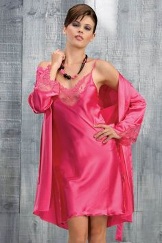 Renew Satin chemise