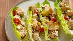 ​These Grilled Chicken Caesar Skewers Will Forever Change The Way You Eat Your Favorite Salad