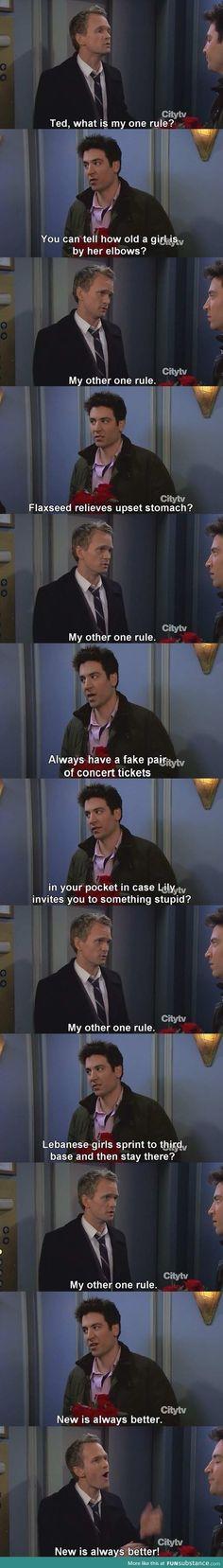 Barney has 1 rule #funny #humor #jokes #adult