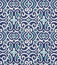Home Decor Print Fabric-Robert Allen New Damask-Marine at Joann.com