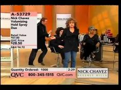 Hair stylist Nick Chavez takes a tumble while promoting his products during a live segment on QVC. Wipe Out, Riddles, I Fall, Qvc, Vines, Hold On, Funny Stuff, Thats Not My, Funny Memes