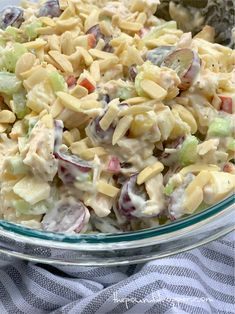 Skinny Chicken Salad - Pound Dropper per serving Skinny Recipes, Ww Recipes, Cooking Recipes, Healthy Recipes, Dinner Recipes, Detox Recipes, Fruit Recipes, Dinner Ideas, Weight Watchers Lunches