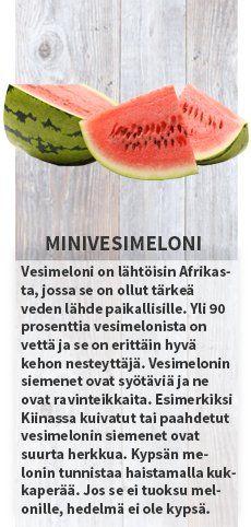 Minivesimeloni Sesonkikasvikset kesäkuu #sesonkikasvikset #satokausikalenteri #kauppahalli24 #minivesimeloni  #hunajameloni #cantaloupemeloni #sipulinippu #varhaiskaali #varhaisperuna