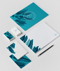 Barro Blue Ceramics - Corporate Identity by Willian Santiago - The Barro Blue stationery set – Art Direction, Branding, and Graphic Design by Willian Santiago. Web Design, Layout Design, Stationary Design, Stationery Set, Design Websites, Corporate Design, Brochure Design, Branding Design, Identity Branding