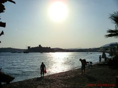 silhouettes in Bodrum